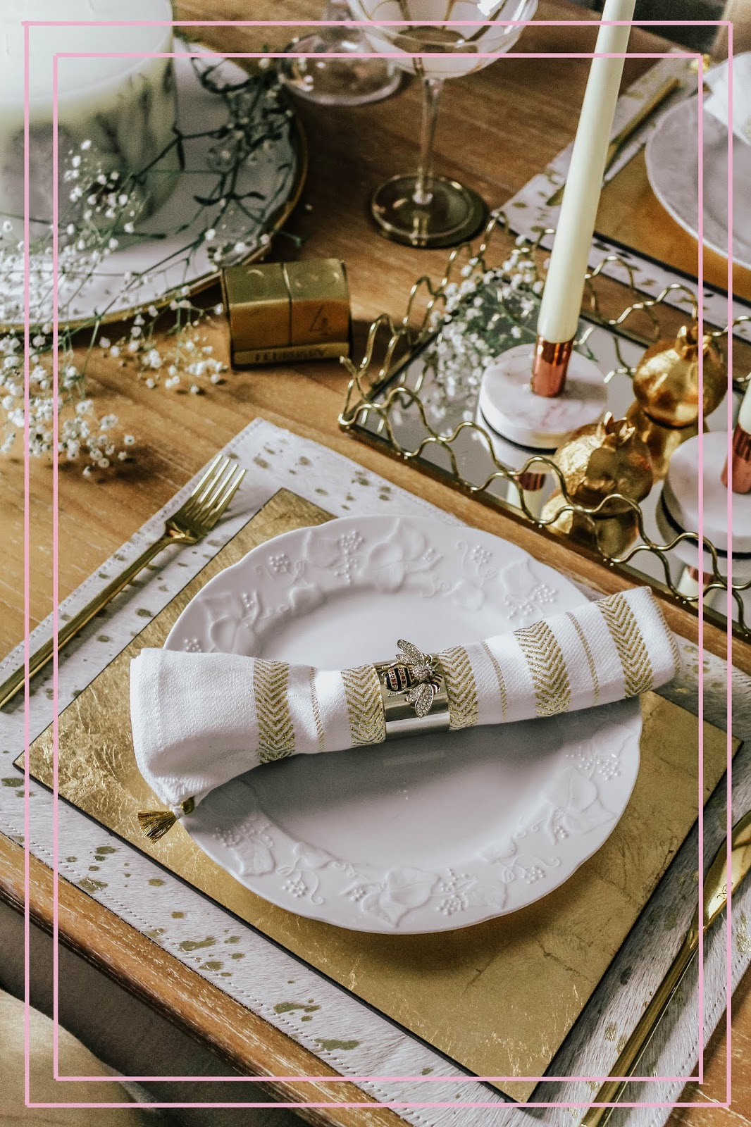 Joanna Buchanan Bee Stripy Napkin Rings Review