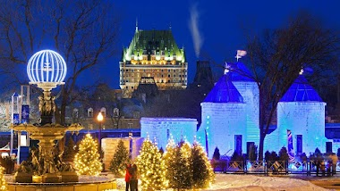 My First Time at the Quebec Winter Carnival
