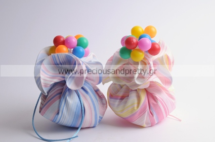 Handmade baptism bombonieres decorated with balloons B29