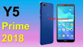 Cara Memasang TWRP Recovery di Huawei Y5 Prime