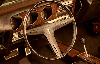 1971 Pontiac LeMans Sport Convertible Steering Wheel