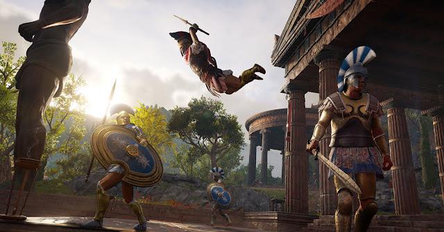 لعبة Assassin's Creed Odyssey ستقدم ميزة رهيبة جدا من خلال محتواها و تذكرنا بألعاب روكستار …