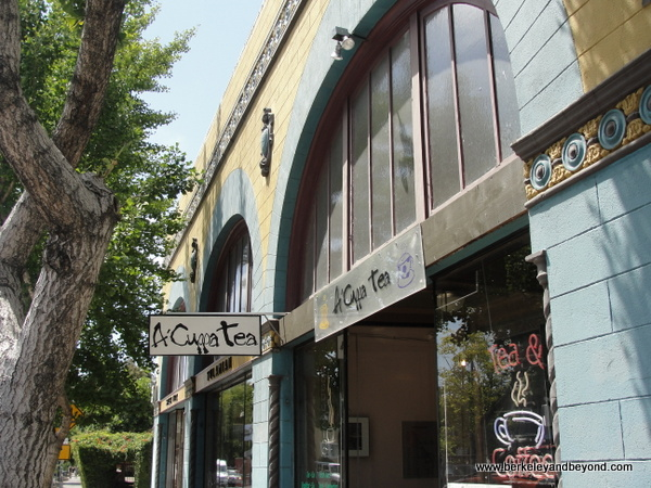 exterior of A 'Cuppa Tea in Berkeley, California