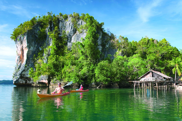 raja ampat island, salawati island, tourist attraction
