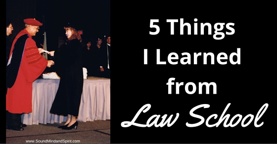 5 Things I Learned from Law School