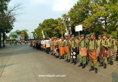 upacara hari batik di pekalongan