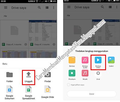 Cara Mengirim File Video Ukuran Besar Lewat Email Di Android