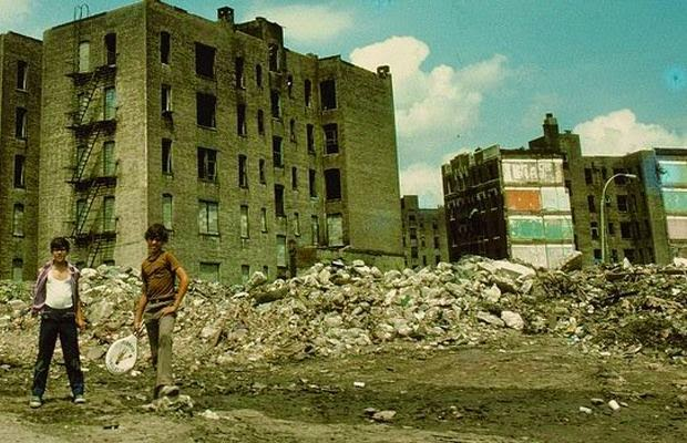Degradación South Bronx, 1980