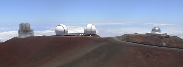 High-tech telescopes located on the remote summit of Maunakea in Hawaii were used to collect data for the research project.
