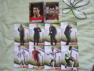 Futera cards Euro 2016 FWF Football Soccer Finals Portugal France Cristiano Ronaldo Nani Pepe Hugo Lloris Adil Rami World Cup