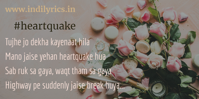 Mano Jaise Yahan Heartquake Hua - Papon | Karwaan | full audio song lyrics with English Translation and real meaning