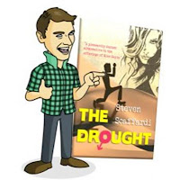 The Drought by Steven Scaffardi, Lad Lit, Chick Lit, Comedy books for men, books for men, funny books, funny books for men, Gifts for men, Presents for men, Christmas presents for men, birthday presents for men, Christmas gifts for men, birthday gifts for men,