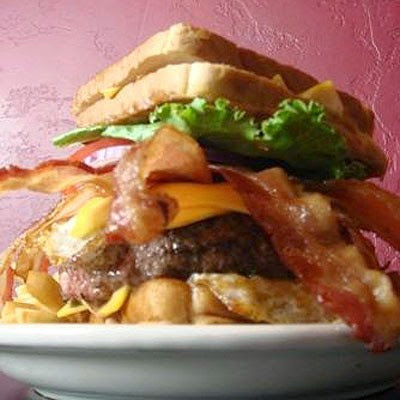 Coronary Bypass Burger at the Vortex | Here's What You Do