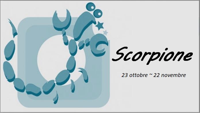 Oroscopo luglio 2018 Scorpione