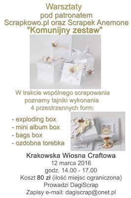 http://infoscrapkowo.blogspot.com/2016/02/wiosna-craftowa-i-warsztaty.html