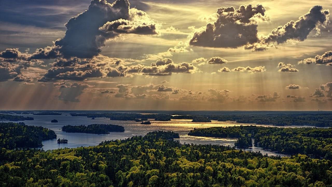 صورة الغروب فوق المستنقعات المائية - اجمل واحلى صور الطبيعة الجميلة والخلابة في العالم