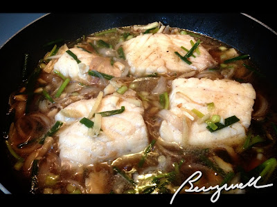 Cooking Fillet Fish in Ginger Sauce