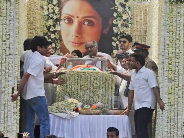 Sridevi last funeral picture