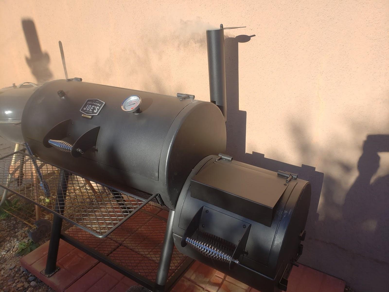 "Masterbuilt 30"" Electric Smoker and Oklahoma Joe's Highland"
