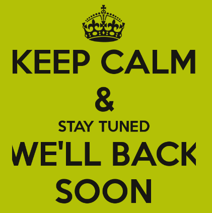 We'll Be Back on September 17th! :)   Health on Earth