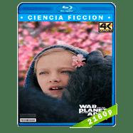 El planeta de los simios: La guerra (2017) 4K UHD Audio Dual Latino-Ingles