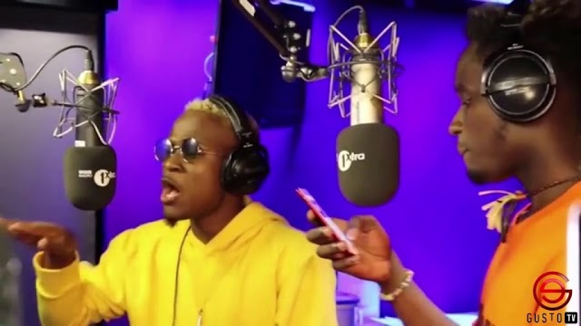 VIDEO: Watch Mr. Eazi and Dotman #XOFactor Freestyle on BBC Radio 1Xtra