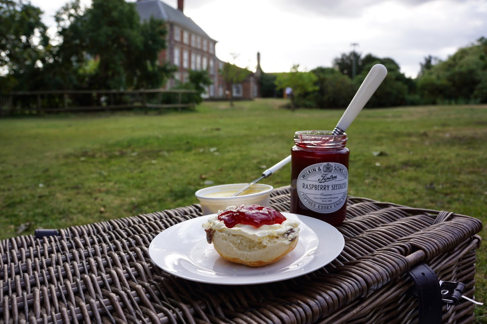 forty hall enfield picnic jam and scones