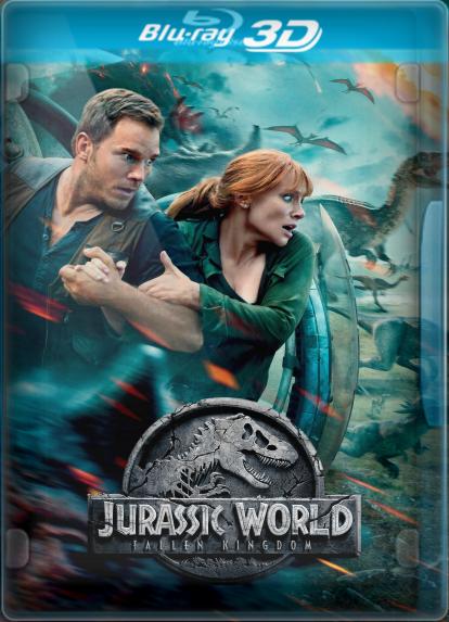 Jurassic World: El Reino Caído (2018) 3D SBS LATINO/INGLES