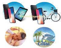 Logo Aglutèn ti premia: vinci tablet, iPhone, City Bike, crociere, cofanetti Smartbox