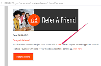 payoneer referral bonus