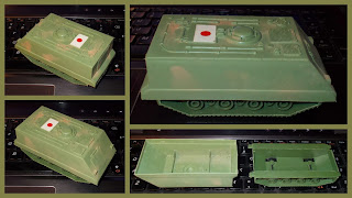 Japanese APC; loosely based on the M113, it's only Japanese because of its sticker.