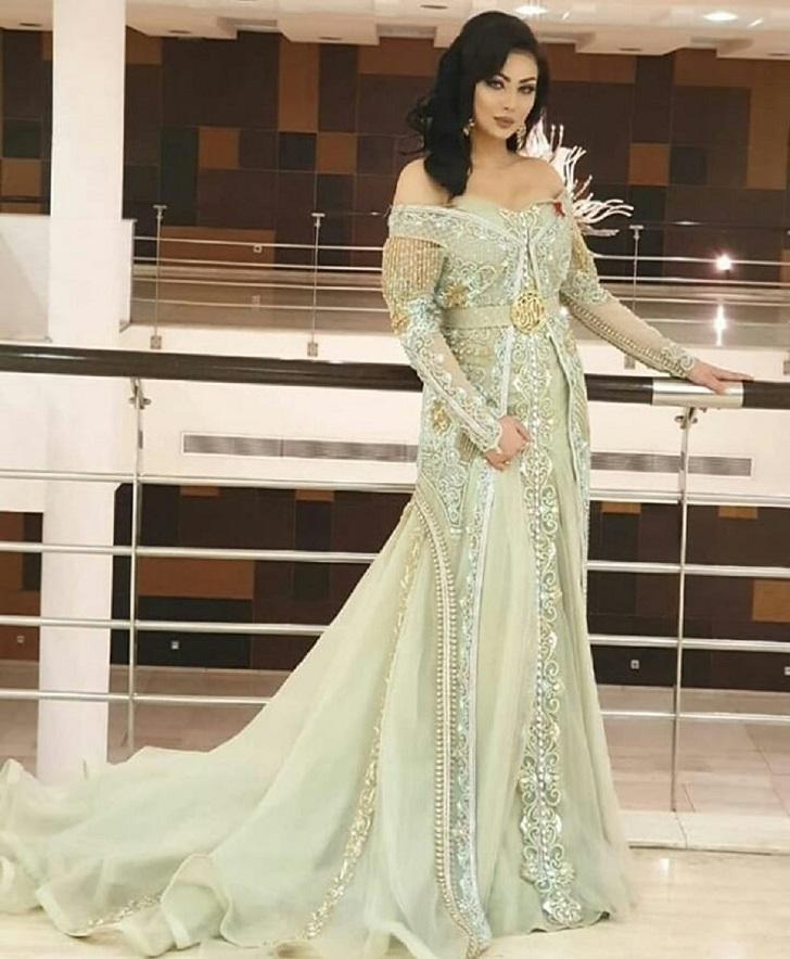 Caftan Maroc Mode: Robe de mariage orientale
