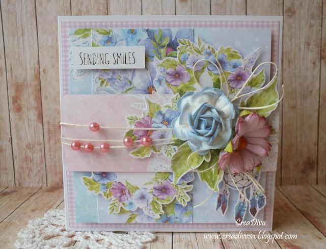 Uśmiechy/ Sending Smiles – inspiracja dla The Scrappy Sketches