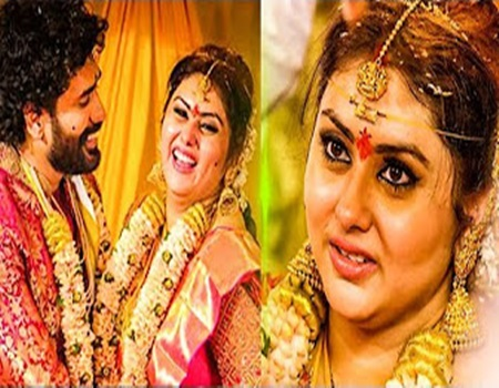 CUTE Marriage VIDEO: Namitha and Veera get married in Tirupati!