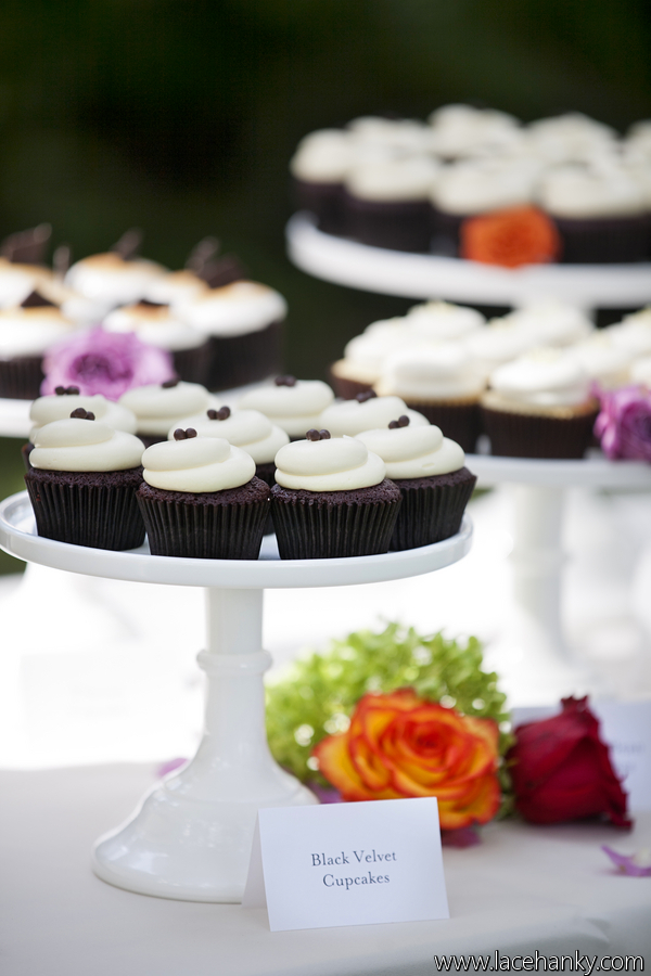 Twin Cities Wedding Cupcake Table Display