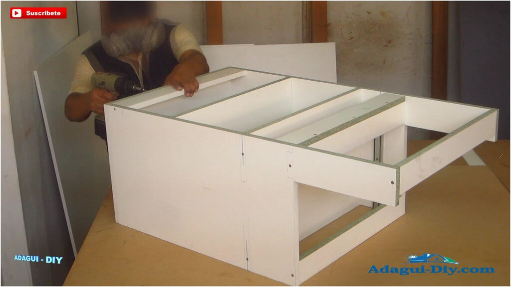 Muebles para la cocina de melamine como hacer pr ctico - Como hacer muebles de cocina ...