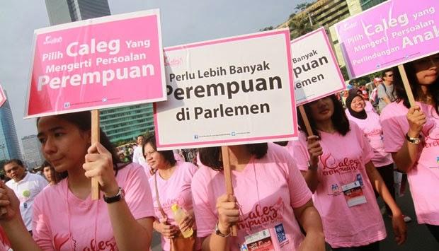 Pilih Caleg Perempuan, Tekan Angka Korupsi