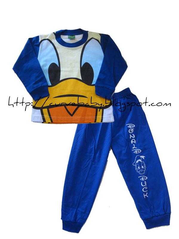 Curve Baby Donald Duck Pajamas