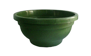 green bonsai pot