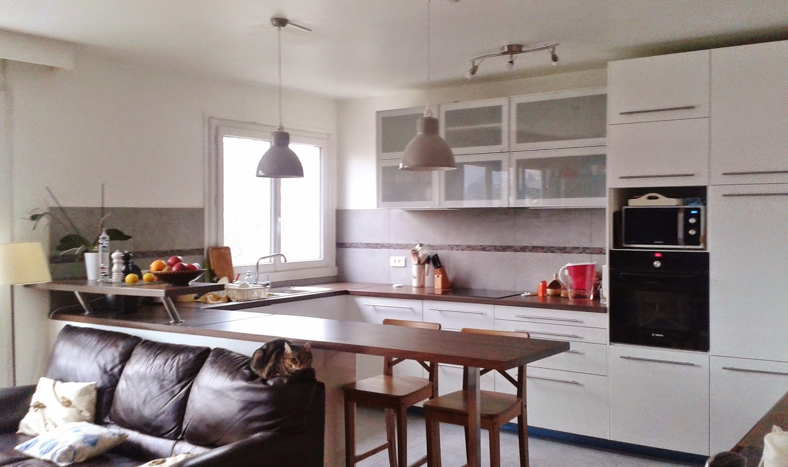 Emejing cuisine ouverte petit espace pictures design - Idee cuisine petit espace ...