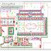 مخطط مبدئي لمنتجع سياحي اوتوكاد dwg