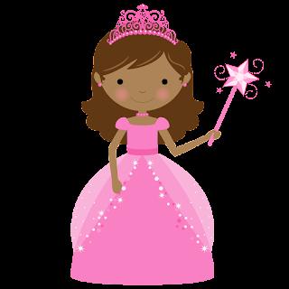 Clipart Princesas y Cupcakes.