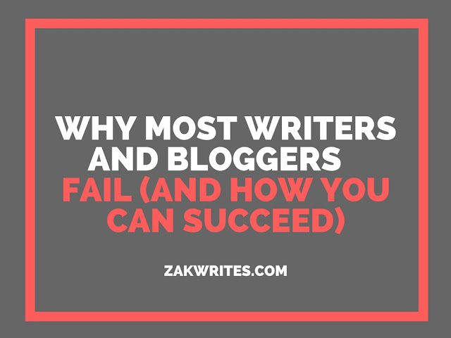 failing, bloggers fail, writers fail, why writers fail, why bloggers fail, why do bloggers fail, failing at blogging, failing at writing