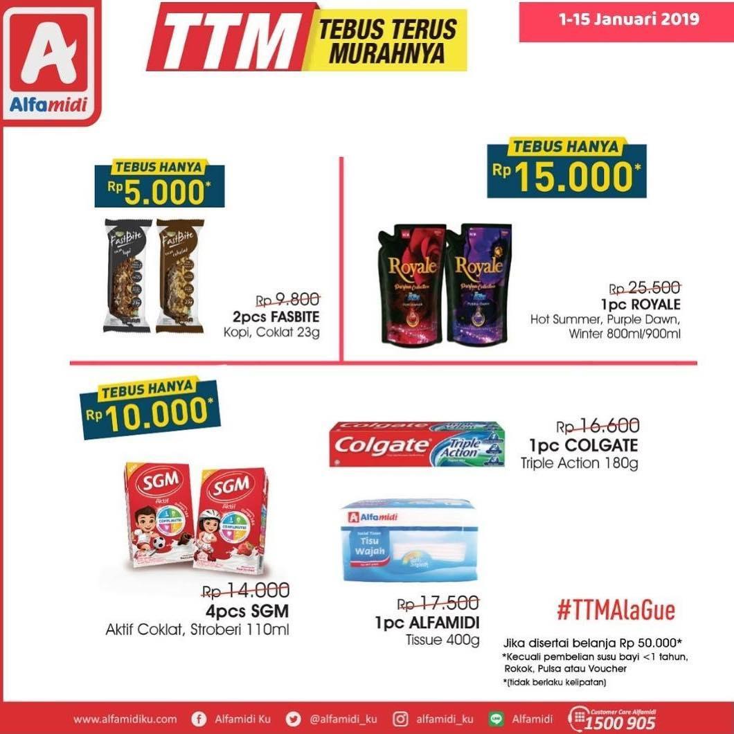 #Alfamidi - Promo TTM Periode 01 - 15 Jan 2019
