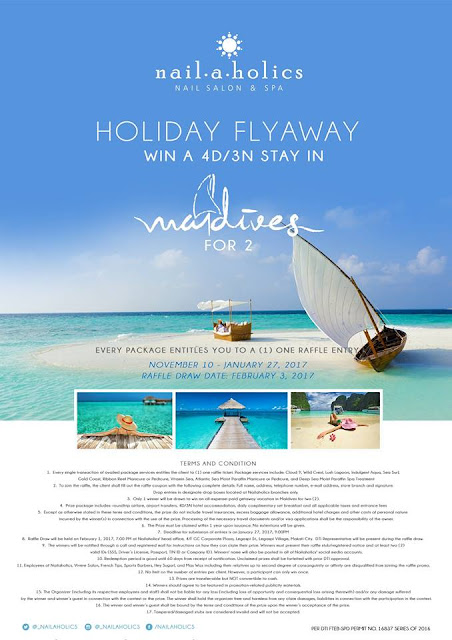 nailaholics, trip to maldives, promo,