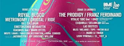 BIME, Festival, Bilbao, 2017, BIME Live