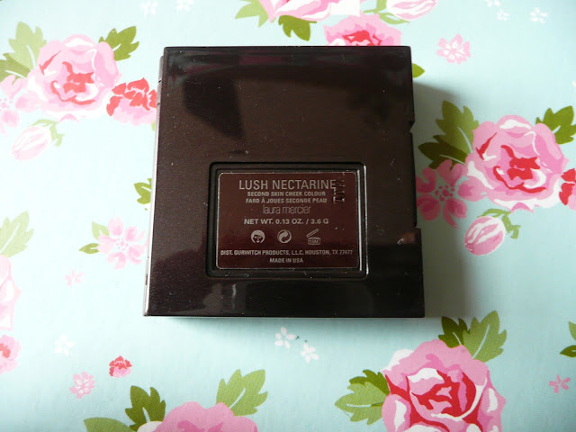 Laura Mercier Second Skin Cheek Colour Powder Blush Lush Nectarine Peach Coral Shimmer