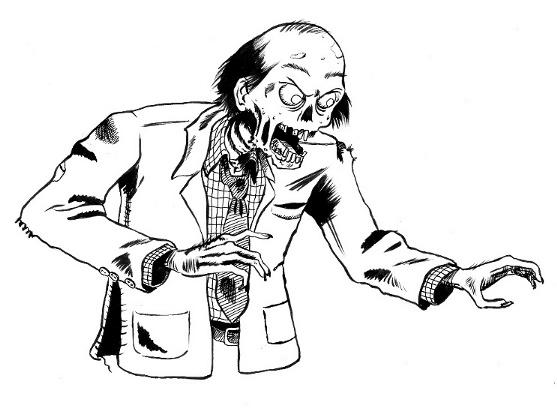 Dibujos De Zombies Para Imprimir Y Colorear: [Imagenes] Zombies Para Colorear!!!