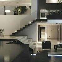 interior decoracion en negro