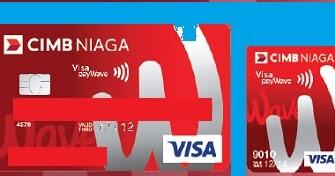 Kartu Kredit Cimb Niaga Wave N Go Cashback Cicilan 0 Limit Free Iuran Kartu Bank